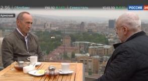 Николай Сванидзе взял интервью у Роберта Кочаряна (видео)