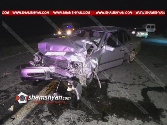 Արմավիրի մարզում բախվել են ՊՆ զորամասի սպայի Mercedes-ը և ժամկետային զինծառայողի Land Rover-ը. կան վիրավորներ (տեսանյութ)