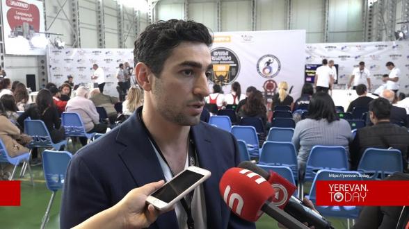 Երևանում անցկացվեց սեղմում հենարանից վարժության Հայաստանի առաջնությունը (տեսանյութ)