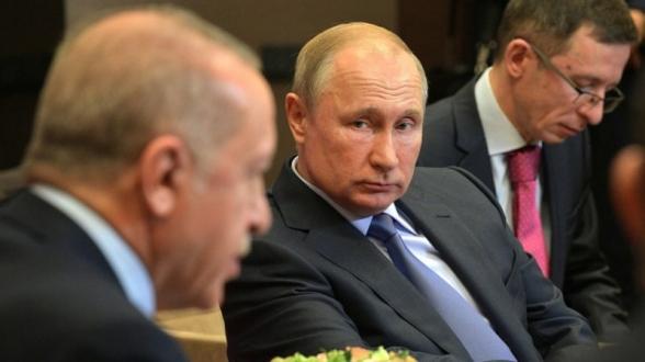 Էրդողանը Սիրիայի հարցով Ռուսաստանից դժգոհ է