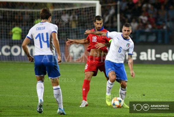Իտալացիները ներկայացրել են Հայաստանի դեմ խաղի հայտացուցակը