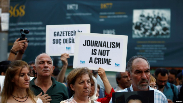 Թուրքիան «աշխարհի ռեկորդ է սահմանել» կալանավորված լրագրողների թվով