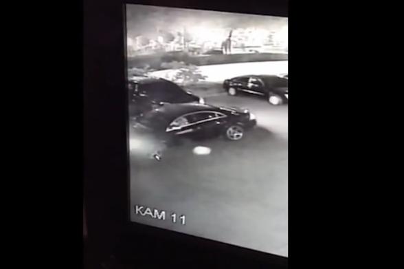 Գողություն է կատարվել ավտոմեքենայից (տեսանյութ)