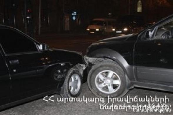 ՃՏՊ Ալեք Մանուկյան փողոցում. կա տուժած