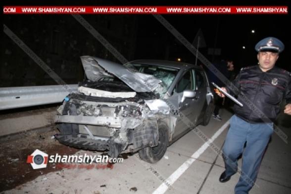Արագածոտնի մարզում բախվել են Nissan Tiida-ն ու «Նիվան»․ կան վիրավորներ