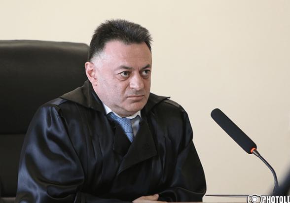 Апелляционный суд признал неправомерным решение о возбуждении уголовного дела в отношении судьи Давида Григоряна (видео)