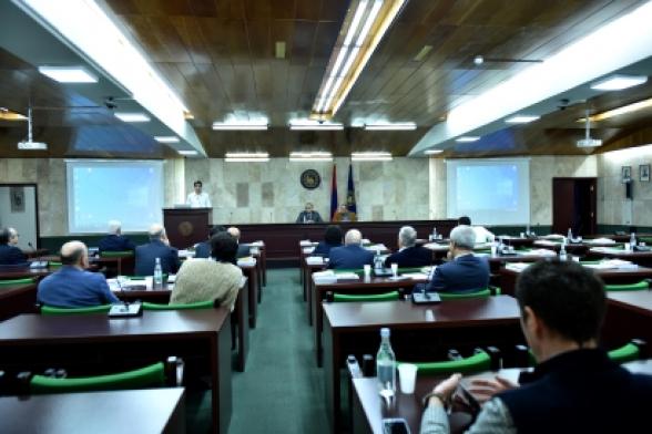 ԵՊՀ հոգաբարձուների խորհրդի նիստը չի կայացել քվորումի բացակայության պատճառով