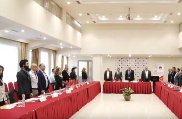 ՀՅԴ Հայ Դատի հանձնախմբերի և գրասենյակների խորհրդաժողովը (տեսանյութ)