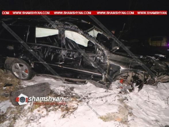 36-ամյա վարորդը Mercedes GL-ով Դիլիջանի վտանգավոր ոլորաններում բախվել է մի քանի ծառերի. կա զոհ