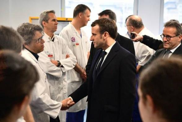 Ֆրանսիայի նախագահը հայտարարել է, որ կորոնավիրուսի համաճարակն առջևում է