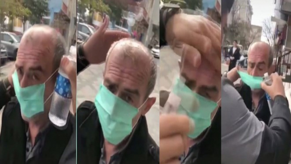 Ստամբուլում բռնի կերպով դիմակ հագցնելու ու գլխին ախտահանիչ լցնելու համար քրգործ է հարուցվել (տեսանյութ)