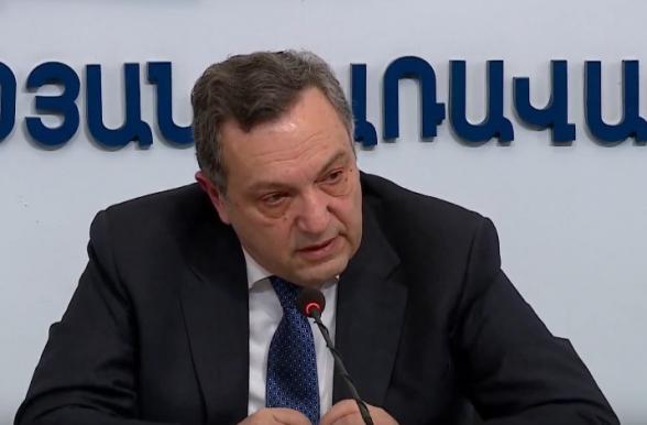 Пресс-конференция замглавы МИД Армении Авета Адонца (прямой эфир)