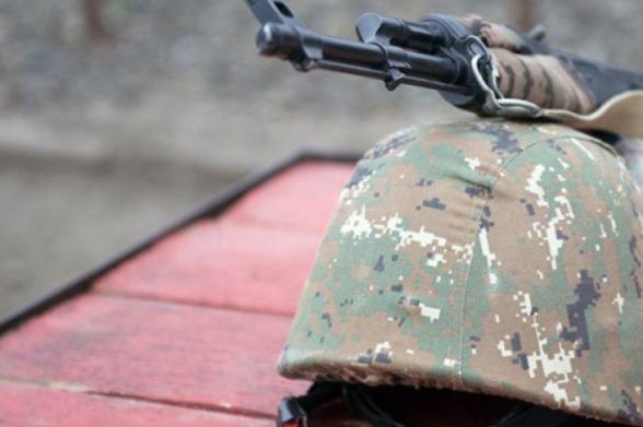Ժամկետային զինծառայողին մեղադրանք է առաջադրվել ծառայակցին դիտավորությամբ կյանքից զրկելու համար