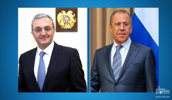 Главы МИД Армении и РФ обсудили борьбу с коронавирусом
