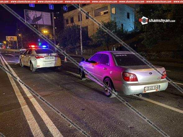 Երևանում 37-ամյա վարորդը ոչ սթափ վիճակում Subaru-ով բախվել է ճանապարհային ոստիկանության Toyota-ին. վերջինիս տեղափոխվել է հիվանդանոց