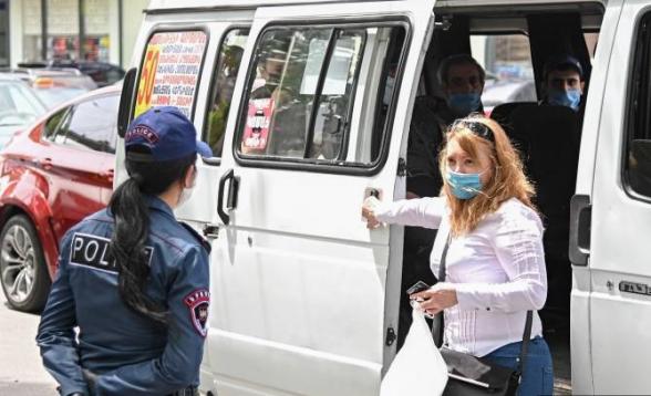 Ոստիկանությունը մայիսի 29-ին հայտնաբերել է արտակարգ դրության ռեժիմի կանոնների խախտման 1251 դեպք