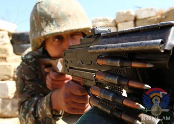 ВС Азербайджана за неделю нарушили режим прекращения огня свыше 100 раз