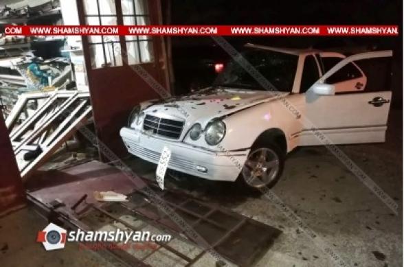 Լոռու մարզում 30-ամյա վարորդը «Mercedes»-ով բախվել է շինության պատին. վերջինս հիվանդանոց տեղափոխվելու ճանապարհին մահացել է