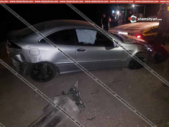 Սյունիքի մարզում բախվել են «Mercedes»-ն ու «КамАЗ»-ը. կա վիրավոր