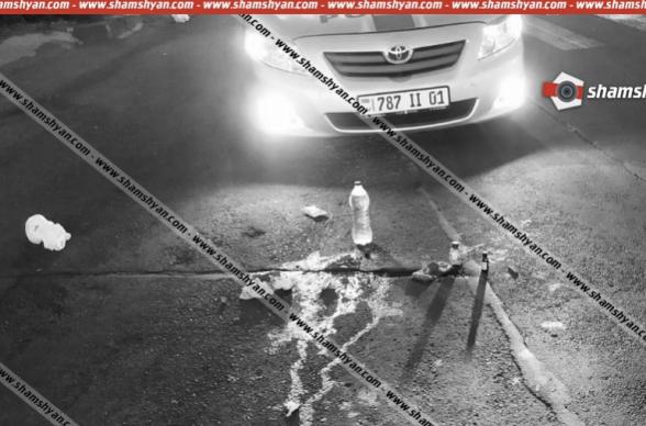 Հրապարակվել է Աբովյան քաղաքում տեղի ունեցած մահվան ելքով վրաերթի տեսագրությունը