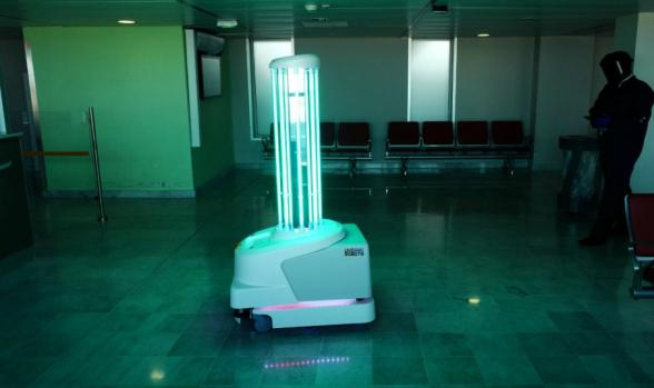 Ученые создали робота-«убийцу» коронавируса