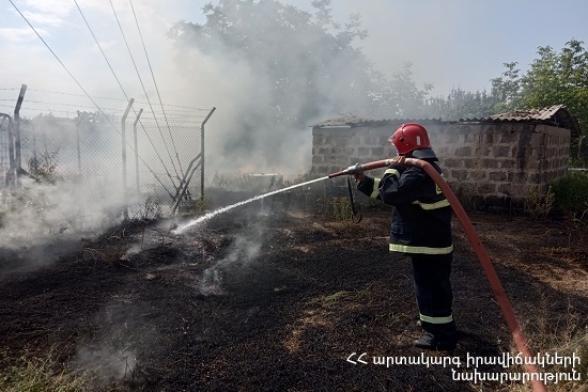 Հրշեջ-փրկարարները մարել են խոտածածկ տարածքներում բռնկված հրդեհները՝ ընդհանուր ընդգրկելով մոտ 21.1 հա տարածք
