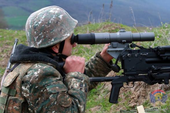ВС Азербайджана за неделю нарушили режим прекращения огня более 200 раз