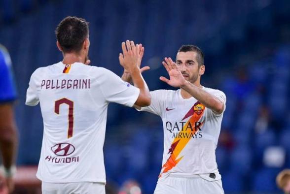 «Ռոմա»-ն Մխիթարյանի գոլի և գոլային փոխանցման շնորհիվ հաղթեց «Պարմա»-ին (տեսանյութ)
