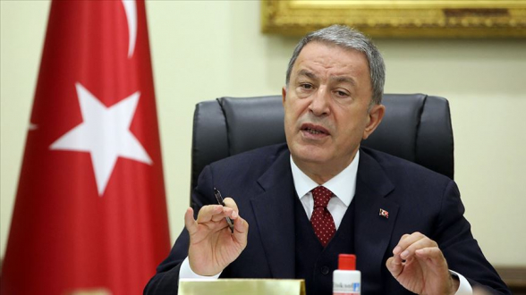 Մենք շարունակելու ենք լինել Ադրբեջանի կողքին՝ ընդդեմ Հայստանի. Թուրքիայի պաշտպանության նախարար