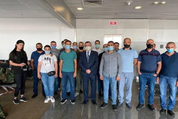 ՀՀ ԶՈՒ խաղաղապահների 40 հոգանոց զորախումբը մեկնել է Կոսովո