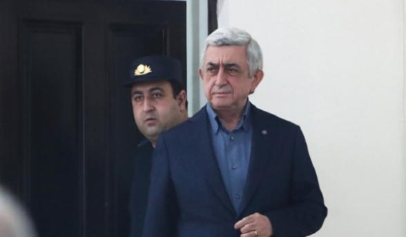 Դատարանն անհարգելի համարեց դատական նիստին Սերժ Սարգսյանի բացակայությունը․ նիստը հետաձգվեց