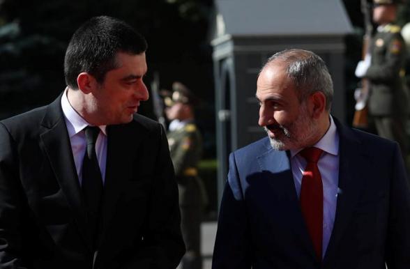 Փաշինյան, տե՛ս, թե էն Վրաստանի «հակահեղափոխական» վարչապետն ինչ է անում