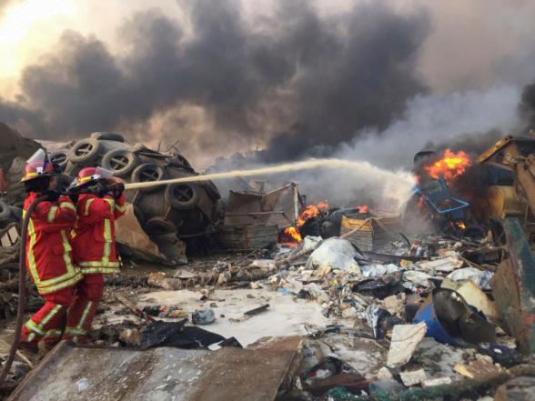 Բեյրութում տեղի ունեցած պայթյունի պատճառով ավելի քան 60 մարդ համարվում է անհետ կորած