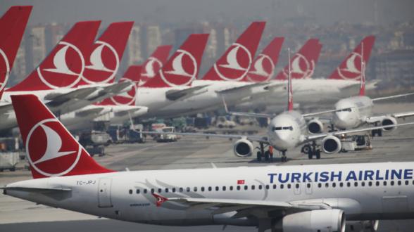 Россия возобновляет авиасообщение с курортами Турции