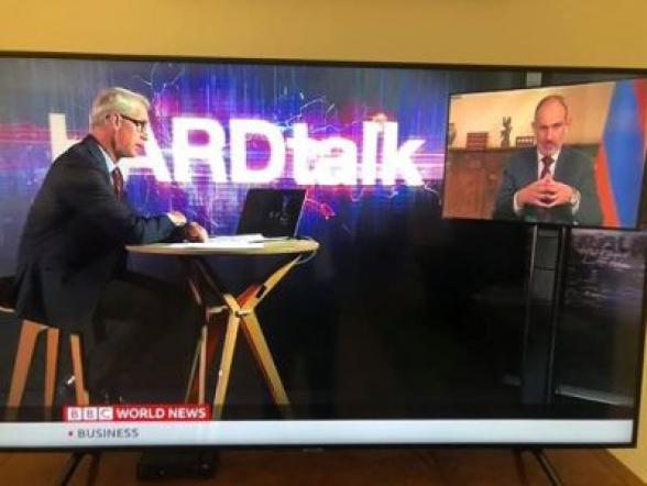 Никол Пашинян стал гостем программы «HardTalk» на телеканале ВВС