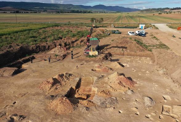 В Германии нашли гробницу возрастом полторы тысячи лет