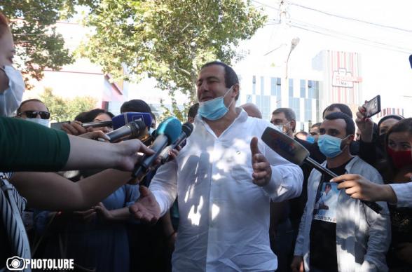 Лидер «Процветающей Армении» Гагик Царукян арестован на 2 месяца (видео)
