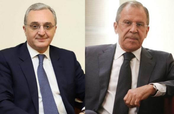 Главы МИД Армении и России обсудили ситуацию в зоне Карабахского конфликта