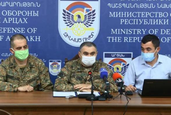 Պաշտպանության բանակի ստորաբաժանումները խոցել են 3 ուղղաթիռ, շուրջ 20 ԱԹՍ՝ այդ թվում հարվածային, 30 տանկ և հետևակի մարտական մեքենաներ․ Արթուր Սարգսյան