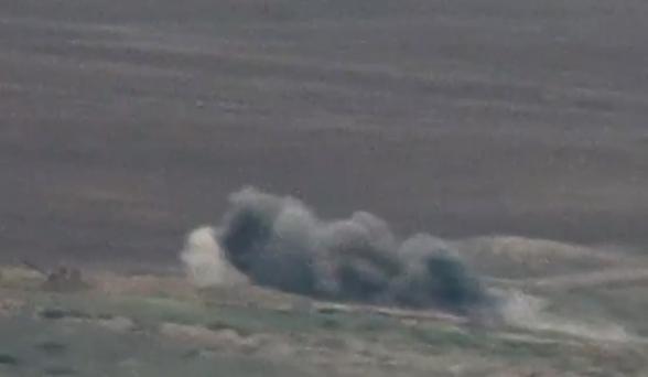 Очередное поражение азербайджанской военной техники (видео)