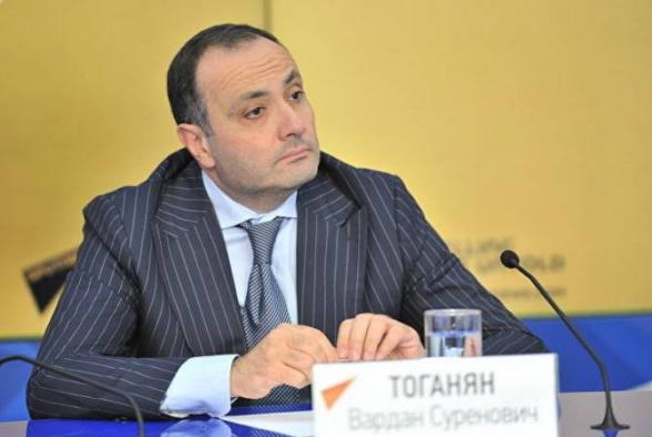 Вардан Тоганян не исключил, что Армения может обратиться к РФ для новых поставок оружия