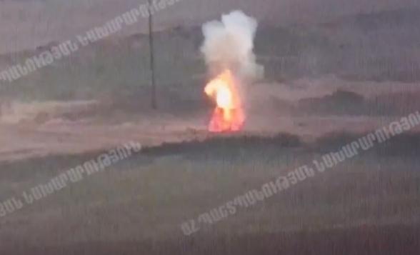 Армия обороны Арцаха отбросила танковое наступление ВС Азербайджана (видео)