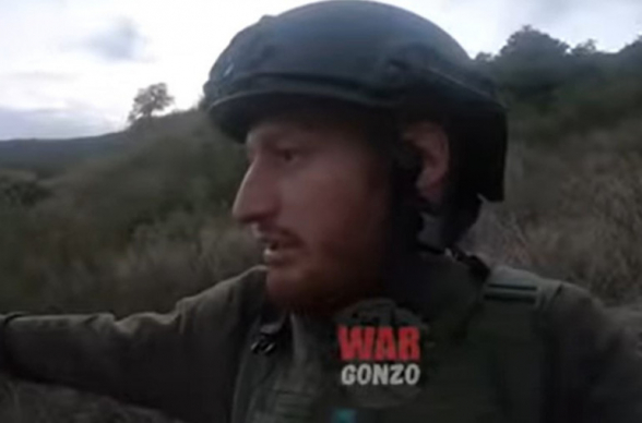 Ռուս զինթղթակիցը հայտնաբերել է ՊԲ-ի կողմից խոցված ադրբեջանական ինքնաթիռի մնացորդները (տեսանյութ)