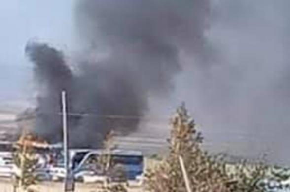 Վարդենիսում քաղաքացիական ավտոբուս է այրվում հարվածային ԱԹՍ-ի հարվածից. Արծրուն Հովհաննիսյան