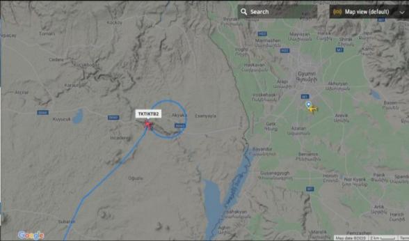 «Razminfo» сообщил о турецком беспилотнике над аэропортом Гюмри