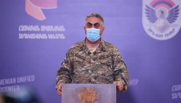 Противник потерял 790 человек убитыми, еще 1900 ранены: уничтожено 137 единиц танков и бронетехники, 72 БПЛА, 7 вертолетов и 1 самолет ВС Азербайджана – Арцрун Ованнисян (видео)