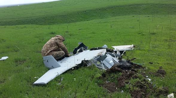 Сбит еще один азербайджанский беспилотник