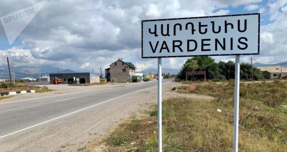 Հակառակորդը հրետակոծել է Վարդենիս-Սոթք ավտոճանապարհը