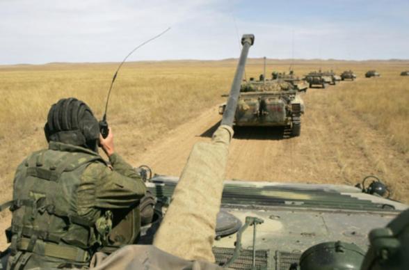 Россия провела в Забайкалье военные учения с боевой стрельбой