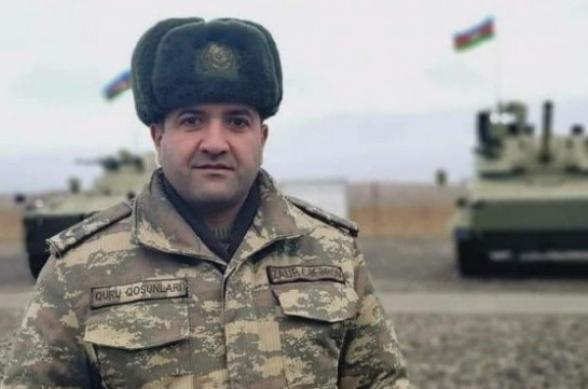 Уничтожен начальник штаба тяжелой артиллерийской бригады ВС Азербайджана
